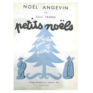FRANCK CESAR - NOEL ANGEVIN POUR PIANO
