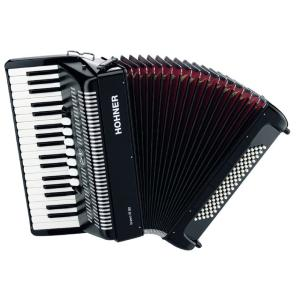 ACCORDEON PIANO HOHNER BRAVO III 80 NOIR
