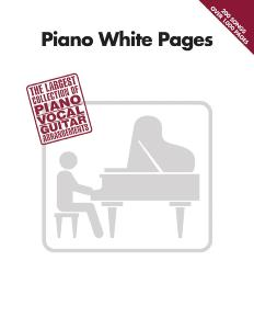 COMPILATION - WHITE PAGES PIANO 200 SONGS