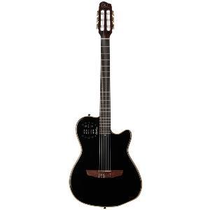 guitare classique electro acoustique godin acs slim noir housse. Black Bedroom Furniture Sets. Home Design Ideas