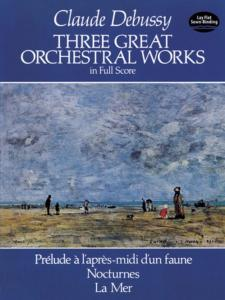 DEBUSSY CLAUDE - TROIS GRANDES OEUVRES ORCHESTRALES - CONDUCTEUR