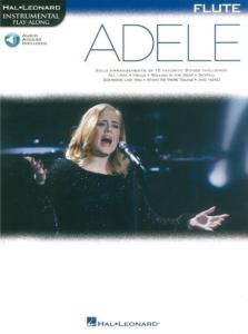 COMPILATION - INSTRUMENTAL PLAY-ALONG: ADELE FLUTE + ONLINE AUDIO ACCES