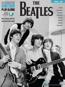 BEATLES THE - GUITAR PLAY-ALONG VOL.025 THE BEATLES + ONLINE AUDIO ACCESS