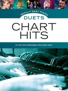 COMPILATION - REALLY EASY PIANO DUETS : CHART HITS