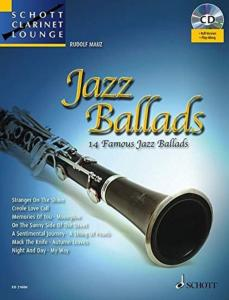 JAZZ BALLADS VOL.1 +CD (ARRANGEMENTS PAR DIRKO JUCHEM) - CLARINETTE