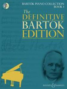BARTOK BELA - BARTOK PIANO COLLECTION VOL.1 +CD - PIANO