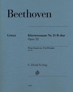 BEETHOVEN - SONATE No11 OP.22 EN SIb MAJEUR - PIANO