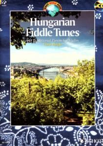 HUNGARIAN FIDDLE TUNES +CD (143 MELODIES TRAD.DE HONGRIE) - VIOLON