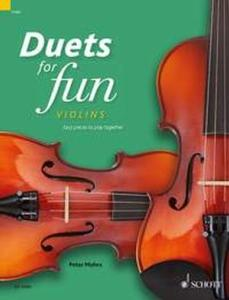 COMPILATION - DUETS FOR FUN : VIOLINS - 2 VIOLONS