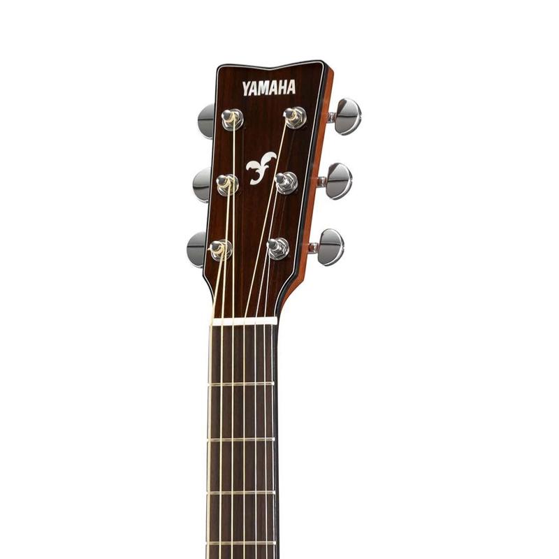 guitare folk acoustique yamaha fs 850 acajou paul. Black Bedroom Furniture Sets. Home Design Ideas