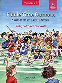 BLACKWELL KATHY ET DAVID - FIDDLE TIME RUNNERS (EDITION REVISEE) AUDIO ACCESS- VIOLON